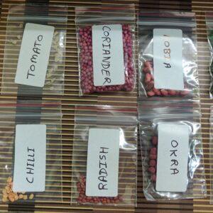 Vegetable Seeds Kit for Gardening