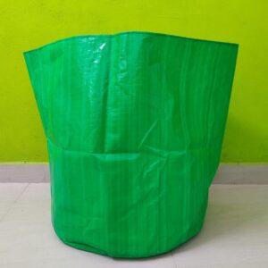 HDPE Grow Bag (24″ X 24″ ) (Green/White Color)