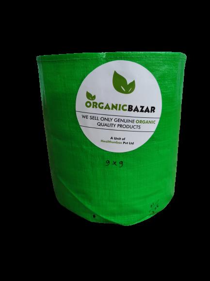 HDPE Grow Bag 9 X 9 Inch