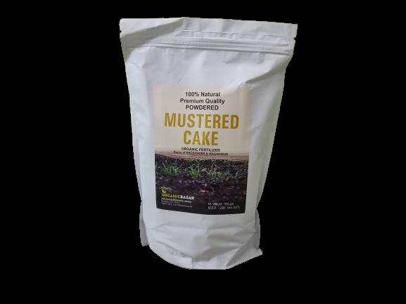 Mustard Cake Fertilizer for Plants