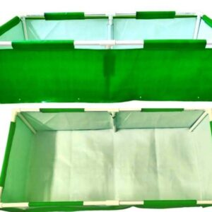 Rectangle Grow Bag With Supporting Pvc Pipes - 4F X 2F X 1F