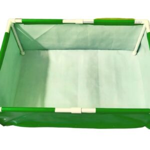 Rectangle Grow Bag With Supporting Pvc Pipes – 3F X 2F X 1F