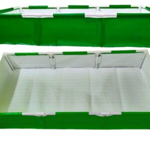Rectangle Grow Bag With Supporting Pvc Pipes – 6F X 3F X 1F