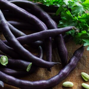 French Beans Purple Seeds